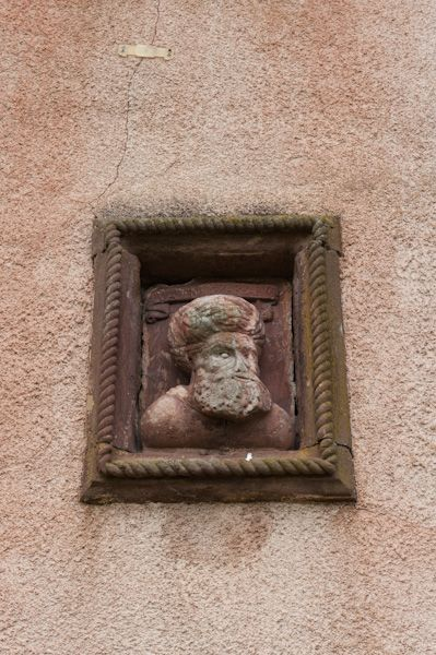 Fyvie Castle photo, Carved panel