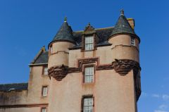 Fyvie Castle, Preston Tower turrets