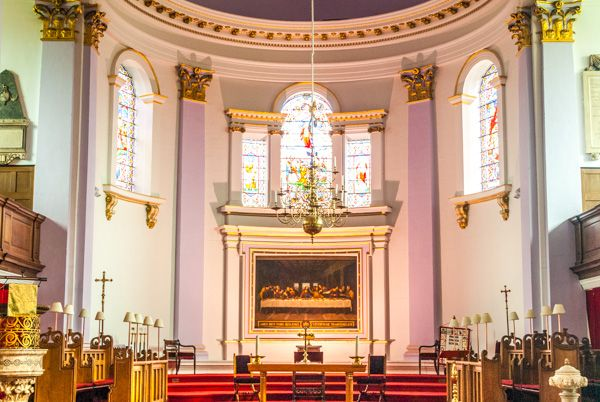 Gainsborough, All Saints photo, The classically inspired apse