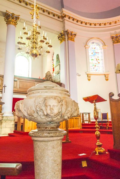 Gainsborough, All Saints photo, The ornate pedestal font