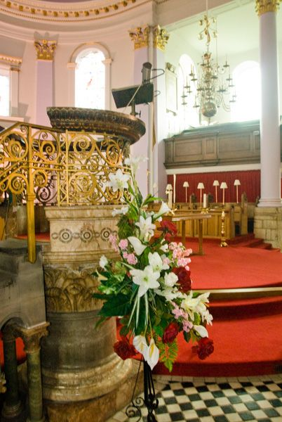 Gainsborough, All Saints photo, The ornate stone pulpit