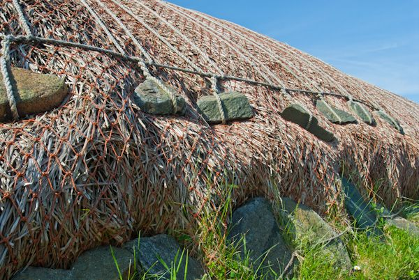 Garenin Blackhouse Village photo, Thatching