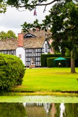 Gawsworth Hall, The view from Church Lane