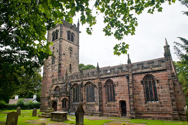 Gawsworth, St James Church photo, South face