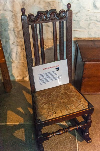 George Stephenson's Birthplace photo, George Stephenson's chair