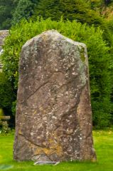 Glamis manse Pictish stone