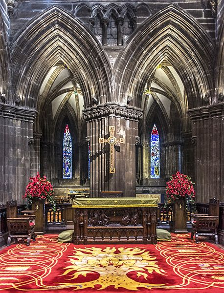 Glasgow Cathedral photo, Looking towards the east window (c) Richard Starkey