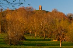 Glastonbury Tor, The Tor from the Somerset Levels