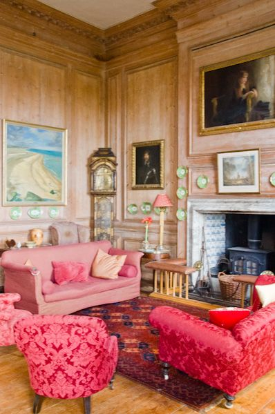 Glemham Hall photo, Sitting room 2