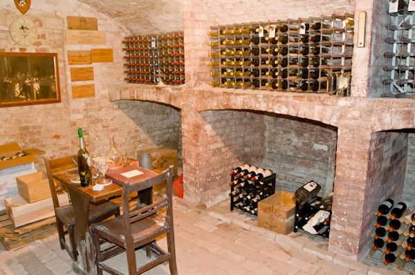 Glemham Hall photo, Wine cellar