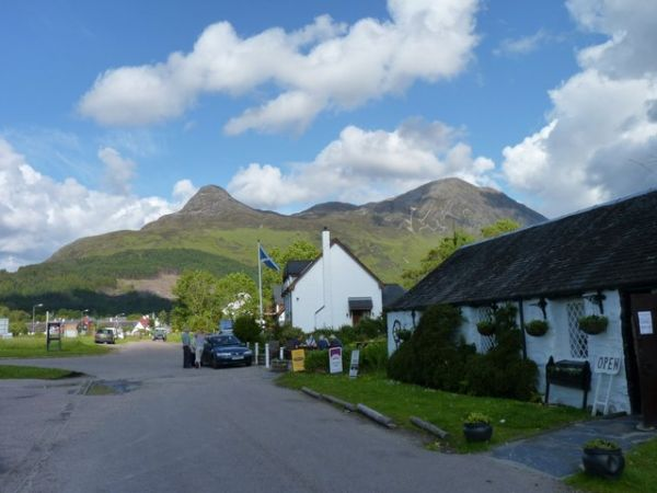 Glen Coe photo, Glencoe village (c) James Allan