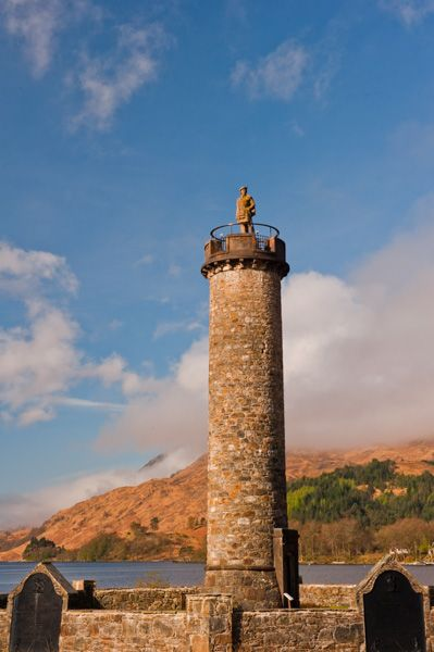 Glenfinnan Monument photo, Early morning at Glenfinnan