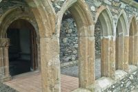 Abbey cloisters