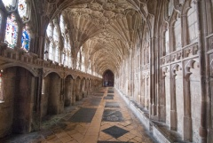 The cathedral cloisters