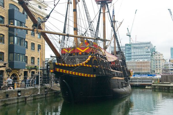 The Golden Hinde offers a range of living history education programmes