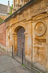 Gonville and Caius College, Honour Gate, Gonville and Caius