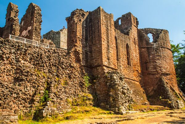 Goodrich Castle >> Goodrich Castle Historic Herefordshire Guide