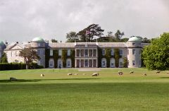 Goodwood House from the grounds (c) Stephen Richards