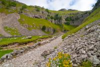 Approaching Gordale Scar