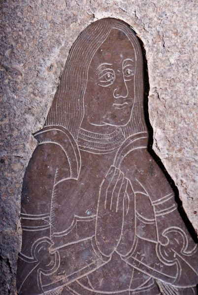 Goudhurst, St Mary photo, Walter Culpepper Medieval brass