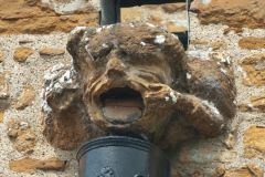Great Brington, St Mary's Church, Medieval gargoyle