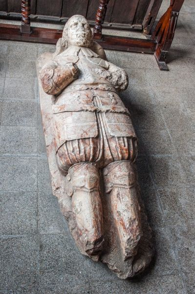 Great Budworth, St Mary and All Saints Church photo, Sir John Warburton effigy