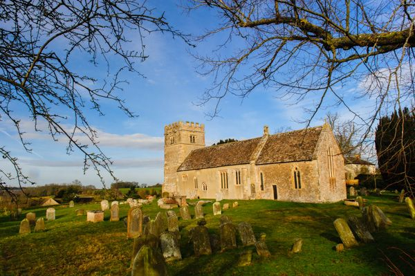 Great Coxwell, St Giles Church photo, View from the churchyard