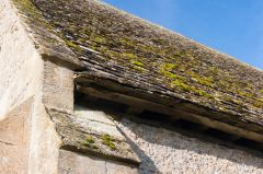 Cotswold stone slate roof