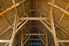 Great Coxwell barn roof construction