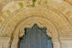 Great Tew, St Michael's Church, The Norman south doorway arch