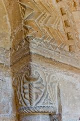 Great Tew, St Michael's Church, Norman doorway capital