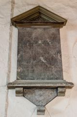 Great Washbourne, St Mary's Church, Esther Martin memorial, 1801