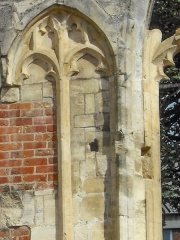 Window tracery detail