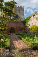 Cromwellian garden and Great Tower