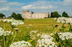 Grimsthorpe Castle, The view from the lakeside walk