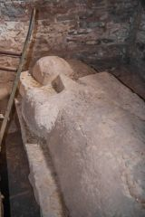 Grosmont, St Nicholas Church, Effigy of a 13th century knight