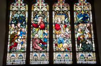 Groton, St Bartholomew's Church, Winthrop memorial window