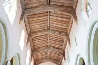 Groton, St Bartholomew's Church, Nave roof