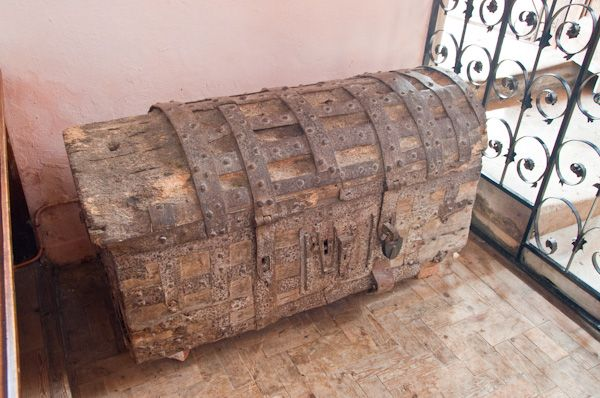 Groton, St Bartholomew's Church photo, Medieval parish chest