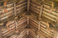 Double hammerbeam roof