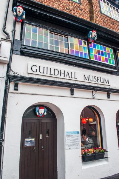 Carlisle Guildhall Museum photo, The front entrance to the museum