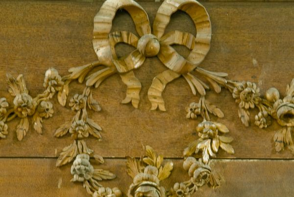 Gunton Church photo, Woodwork detail