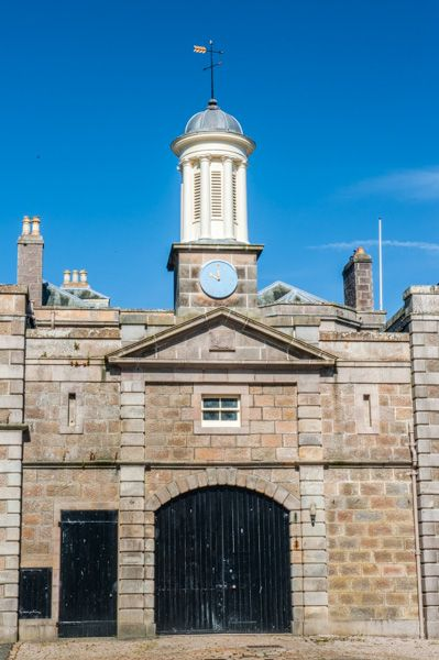 Haddo House photo, The stable block