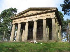 Hagley Hall, The Temple of Theseus (c) Paul Brooker