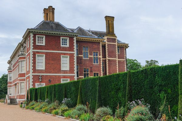 Ham House photo, The rear terrace
