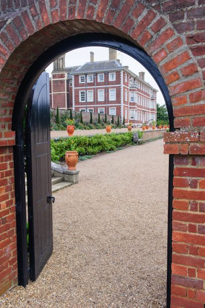 Ham House photo, View from the walled gardens
