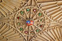 Vaulted ceiling, Wolsey's gatehouse