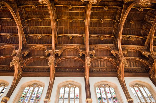Hampton Court Palace photo, Great Hall hammer-beam roof