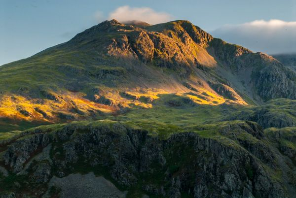 Hardknott Roman Fort photo, Sunrise at Hardknott