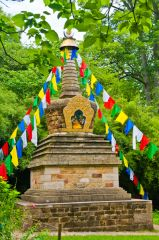 Stupa in the Himalayan Garden